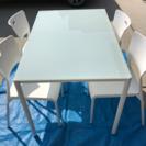 オシャレなダイニングテーブルセット2