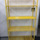 メタルラック 5段ラック 黄色