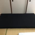 高反発マットレス 三つ折り ブラック シングル