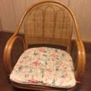 籐の椅子(回転椅子)