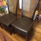 楕円形 伸縮ダイニングテーブルと椅子