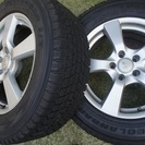 スタッドレスタイヤ(225/65R17 )ホイール4本セット