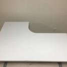ニトリ製L型デスク(白色)