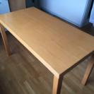 無印良品 ブナ材 システムテーブル 120x60cm