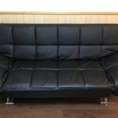 黒のソファーベット