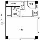 広い角部屋です。地下鉄中央線「深江橋」駅から徒歩3分。