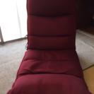【値下げ!】マッサージ座椅子 赤