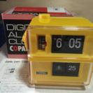昭和のデジタル時計 パタパタ文字 譲って下さい