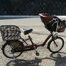 子供乗せ自転車 3人乗り適合自転車