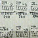 名古屋鉄道 株主優待乗車券 1枚1000円