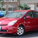 【誰でも車がローンで買えます】H19 プリウス 1.5G 赤 完全...