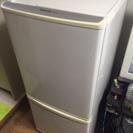 シャープ 2ドア 冷蔵庫 137L SJ-K14W-FG