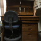 【受付再開】学習机と椅子のセット