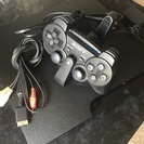PS3【動作確認済み、コントローラー、コントローラー充電スタンド付き】