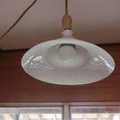 レトロな電球傘:ガラス製