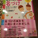 赤ちゃんの名付け  1650円の品