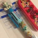 値下げ★ダッフィとジェラトーニの6色ボールペン♡