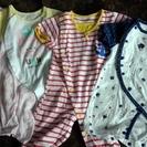 ベビー服 半袖 夏用 新生児用 50~60センチ