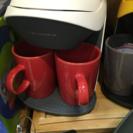 小ぶりなコーヒーメーカー