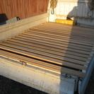 幅140Cm 長さ195Cm 巻き取り可能 木製スノコ 中古