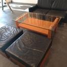 【値下げしました】ソファ、チェア、テーブルセット