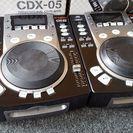Vestax CDJ CDX-05 2台セット