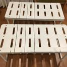 押入れ収納棚 、押入れ整理棚(伸縮式)アイリスオーヤマ 2個セット
