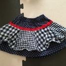 ベビー服 スカート 80 ムージョンジョン moujonjon 女の子