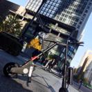 電動アシスト折りたたみ自転車 A-BIKE