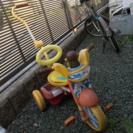 値下げアンパンマン三輪車