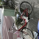 電動アシスト自転車の赤いヤマハPASSです!台東区入谷まで取りに来...