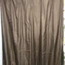 茶色のカーテン