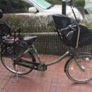 子供乗せ自転車  三人乗り