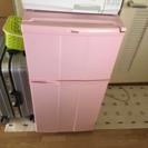 ピンク冷蔵庫!