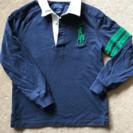 ラルフローレン 長袖 ポロシャツ  size7(130)ビッグポニ...