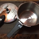 お料理に便利! ドウシャの圧力鍋
