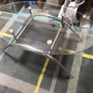 美品 ガラステーブル リビングテーブル ローテーブル