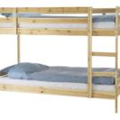 IKEA MYDAL 木製二段ベッドフレーム(7ヶ月使用)