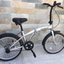 折りたたみ自転車(未使用・新品