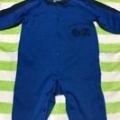 青色のベビー服 70