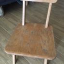 子供用?木製椅子    お取引中