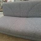 ロータイプ ソファーベッド グレー色 差し上げます。