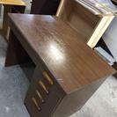 中古 木製学習机