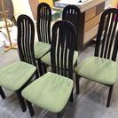 ★★傷みあるのであげます★★カリモク製 椅子3客
