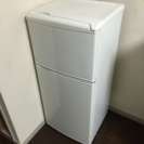 【1人暮らしにオススメ】2ドア109L冷蔵庫