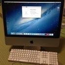 iMac(20インチ、Early2008)を格安でお譲り致します。