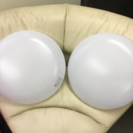 東芝 LED照明 二個セット