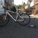 ブリヂストンordina クロスバイク 白色