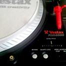 Vestax PDX-2000 ターンテブル2台