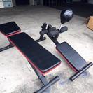 シットアップベンチ パンチングボール付きシットアップベンチ おまけ器具